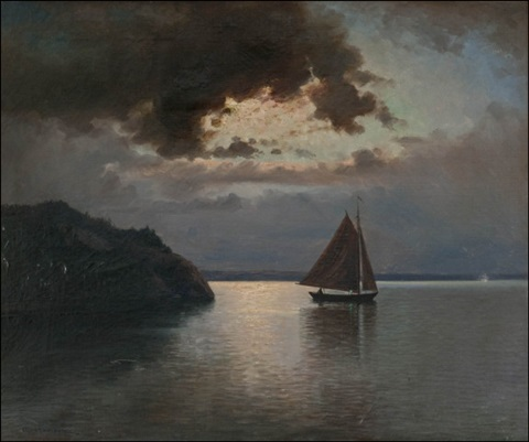 iltapurjehdus sailing at dawn by erik abrahamsson