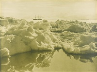 terra nova in mcmurdo sound by herbert george ponting