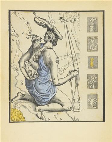 untitled le cocher de latlas dhevelius by joseph cornell