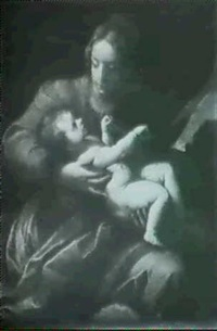 madonna col bambino by antonio mondini