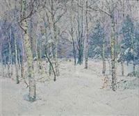 winter landscape by edward k. williams