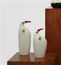 bird vessel (+ another; 2 works) by kenji fujita