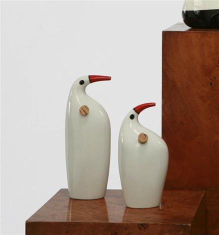 bird vessel (+ another; 2 works) by kenji fujita