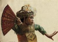 tari gebyar duduk, balinese dance by hoessein enas