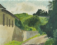 hügellandschaft - paysage (colline) by hans berger