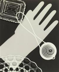photogram with glove by edward w. quigley