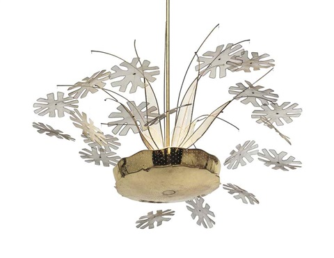 A snowflake chandelier by paavo tynell on artnet a snowflake chandelier by paavo tynell mozeypictures Choice Image