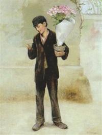 le livreur de fleurs by paul laureaux