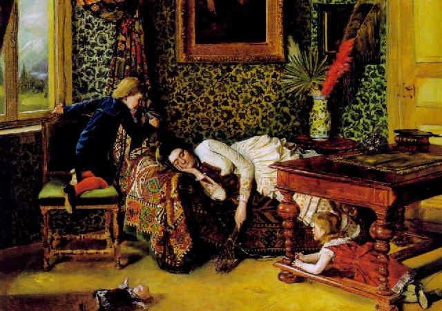 der mittagsschlaf by theodor rauecker