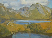 tasmanian lakes by nora gurdon