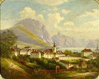 town by the lake by friedrich wachsmann