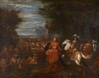 défaite de l'armée espagnole près du canal de bruges le 31 août 1667 by adam frans van der meulen