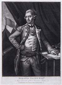 horation esqr., major general of the american forces by john morris