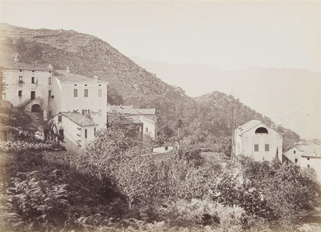 vue de village corse by miguel aleo
