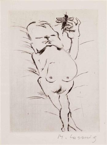 erotische darstellung by maria lassnig