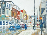 busy street by henry trask reilly
