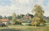 tuddenham, suffolk by leonard russel squirrell