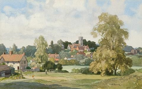 tuddenham suffolk by leonard russel squirrell