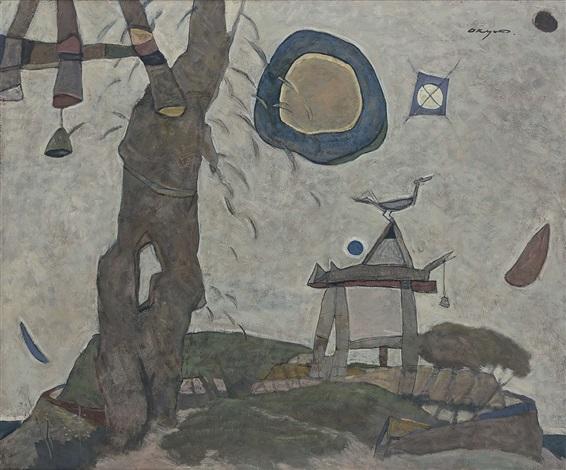 landscape by kwon okyun