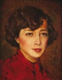 portrait de femme by denes de holesch
