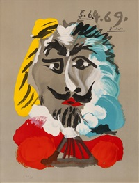 from imaginary portraits by pablo picasso