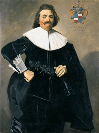 portrait of tieleman roosterman by frans hals the elder