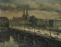 bayonne, le pont saint-esprit by jiva