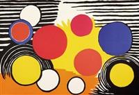 composition aux cercles birdness by alexander calder
