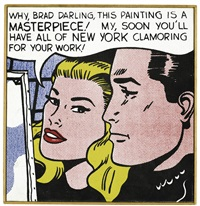 r lichtenstein, masterpiece 1962 by richard pettibone