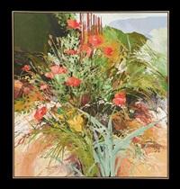 kitchen garden poppies by douglas atwill