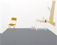 gray interior by alex katz