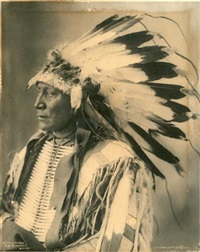 sioux, chef hollow horn bear by frank a. rinehart