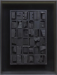 diminishing reflection x by louise nevelson