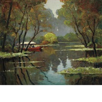 st. john's river near riverdale, florida by anthony thieme