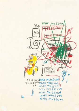 wax museum by jean michel basquiat
