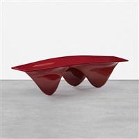 aqua table (red) by zaha hadid