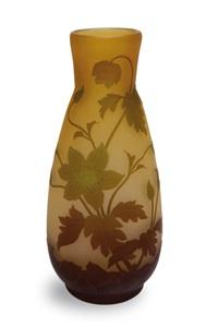 vase akelei by arsall (vereinigte lausitzer glaswerke)