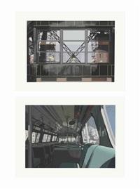 urban landscapes no. 3: seven plates by richard estes