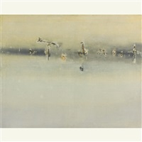 painting no. 3 by vasudeo s. gaitonde