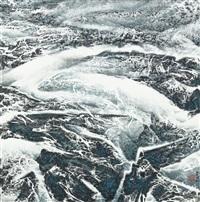 tibet series, no.67-glacier by liu kuo sung