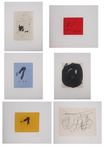 octavio paz suit set of 27 by robert motherwell