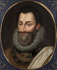 portrait du roi henri iv by jacob bunel