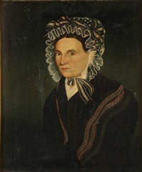 portrait of sarah makins by sheldon peck