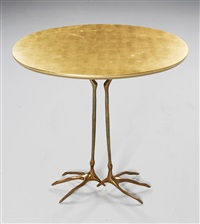traccia side table by meret oppenheim
