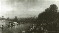 henley regatta (after walter field) by william turner davey