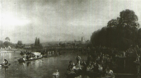 henley regatta after walter field by william turner davey