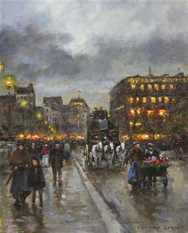 pont neuf by edouard léon cortès