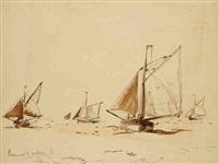 voiliers en bretagne by bernard raoul lachevre