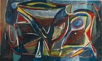 composition no. 8 by bram van velde