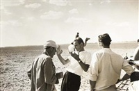 lawrence of arabia, director (david lean) and crew in conversation, nov. 8, 1963 by mark kauffman